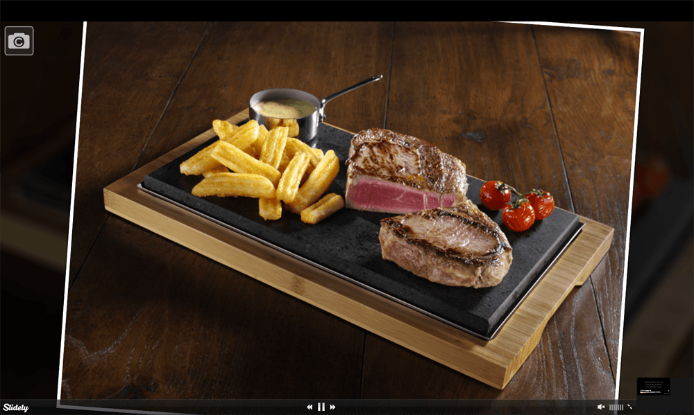 SteakStones Menu and Recipe Ideas for Hot Stone Cooking