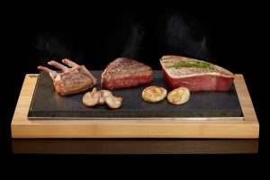 The Sharing Steak Plate from SteakStones, The Home of Hot Stone Cooking