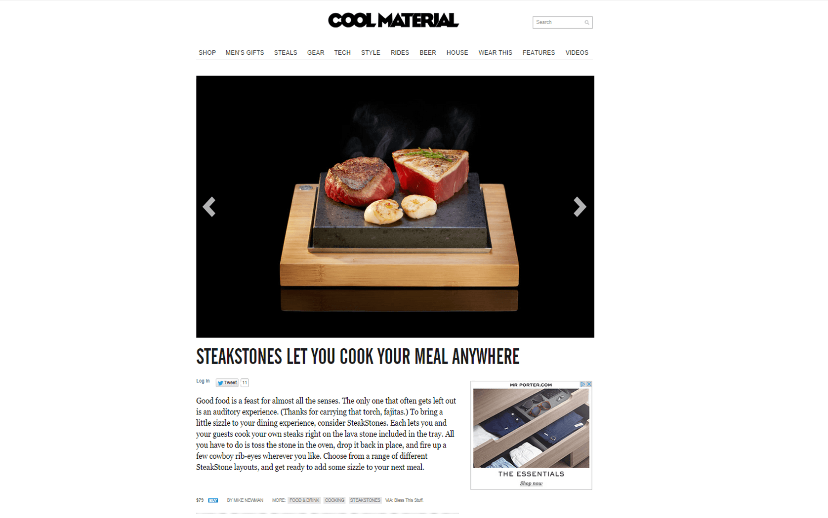Cool Material - Hot Stuff in Cool Material