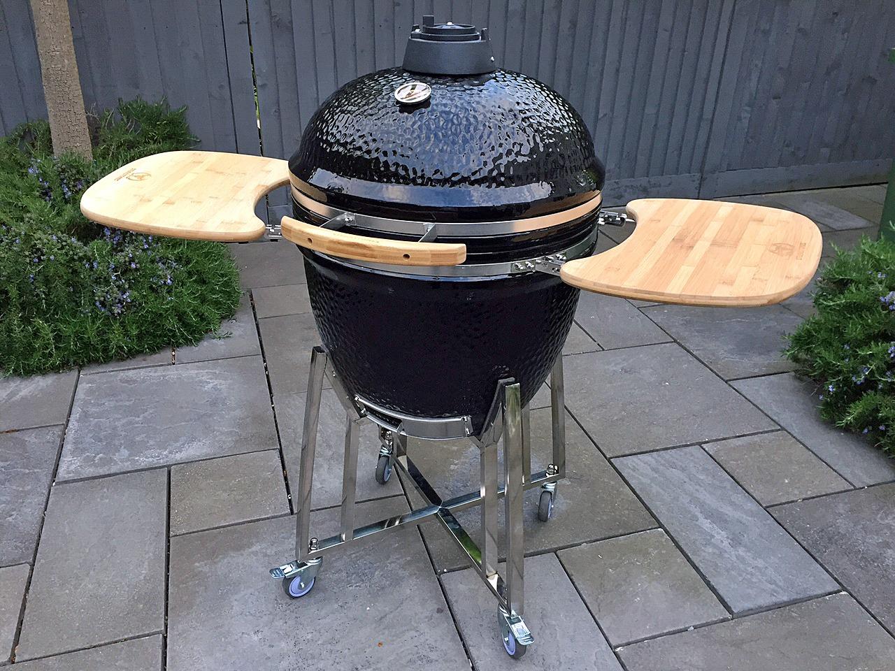 steakstones kamado raucher & grill (ss00ksg)-steakstones