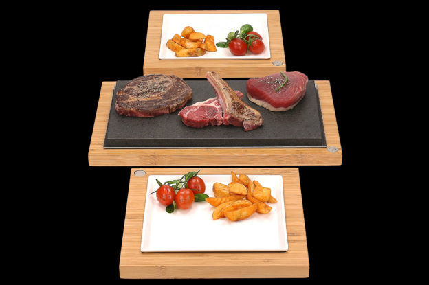 The Sharing Steak Plate and Servers